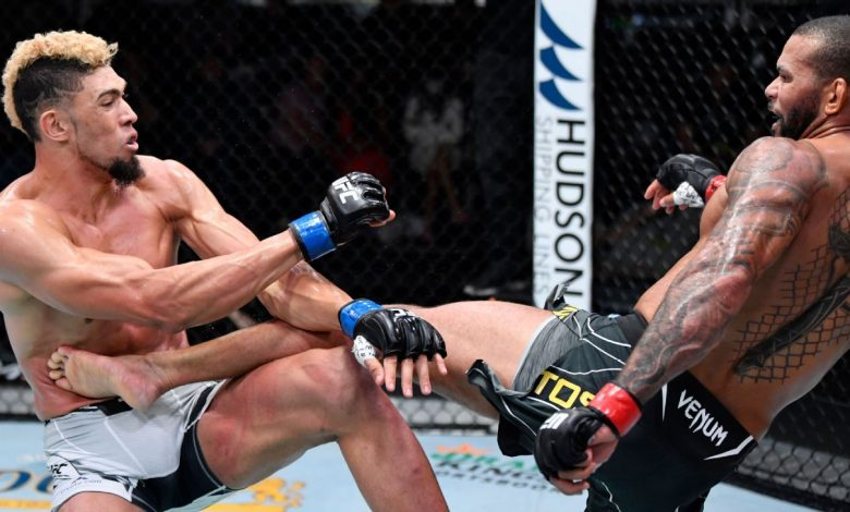 Thiago Santos and Johnny Walker didn't produce fireworks, but made progress nonetheless