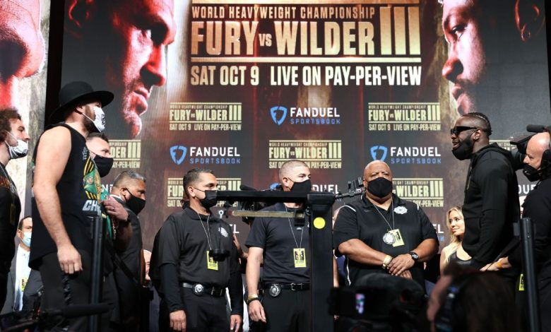 Tyson Fury, Deontay Wilder both bulk up for trilogy title bout in Las Vegas