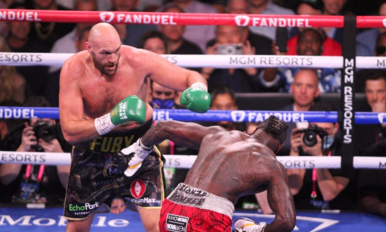Tyson Fury says Deontay Wilder refused to show sportsmanship after KO