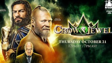 WWE Crown Jewel 2021: Start times, how to watch, match card