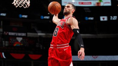 Zach LaVine puts on an opening-night show, says new-look Bulls 'looking forward now,' not back